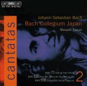 Bach Collegium Japan, Masaaki Suzuki: J.S. Bach: Cantatas, Vol. 2 (BWV 71, 131, 106) - CD
