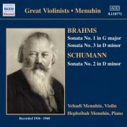 Brahms / Schumann: Violin Sonatas (Menuhin) (1934-1940) - CD