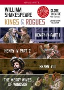 Shakespeare: Kings & Rogues (Shakespeare: Henry IV Parts 1 & 2; Henry VIII; The Merry Wives of Windsor) - DVD