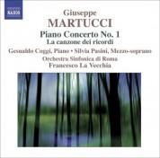 Francesco La Vecchia: Martucci, G.: Orchestral Music (Complete), Vol. 3  - Piano Concerto No. 1 / La Canzone Dei Ricordi - CD