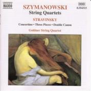 Szymanowski: String Quartets / Stravinsky: Concertino - CD