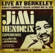 Jimi Hendrix: Live At Berkeley - CD