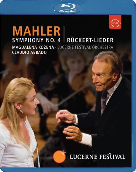 Magdalena Kožená, Lucerne Festival Orchestra, Claudio Abbado: Mahler: Symphony No. 4, Rückert Lieder - BluRay