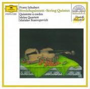 Melos Quartett, Mstislav Rostropovich: Schubert: String Quintet - CD