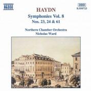 Haydn: Symphonies, Vol.  8 (Nos. 23, 24, 61) - CD