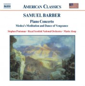 Marin Alsop: Barber: Piano Concerto / Die Natali / Medea's Meditation - CD