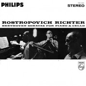 Mstislav Rostropovich, Sviatoslav Richter: Beethoven: Sonatas For Piano & Cello - Plak