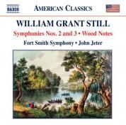 John Jeter: Still: Symphonies Nos. 2 & 3 - Wood Notes - CD