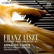 Arnaldo Cohen, Sao Paulo Symphony Orchestra, John Neschling: Liszt: Totentanz, Piano Concertos 1 & 2 - CD