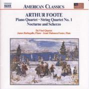 Foote: Piano Quartet / String Quartet / Nocturne and Scherzo - CD