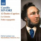 Fulvio Luciani, Massimiliano Motterle: Sivori: 12 Études-caprices - La génoise - Folies espagnoles - CD