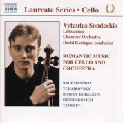 Cello Recital: Vytautas Sondeckis - CD