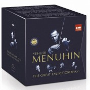 Yehudi Menuhin - The Great EMI Recordings - CD
