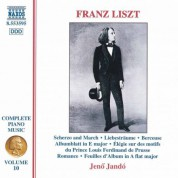 Liszt: Scherzo and March / 3 Liebestraume / Berceuse - CD