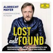 Albrecht Mayer, Kammerakademie Potsdam: Albrecht Mayer - Lost And Found - CD
