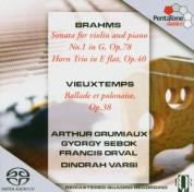 Arthur Grumiaux, György Sebök: Brahms, Vieuxtemps: Sonata for Violin & Piano, Ballade et Polonaise - SACD