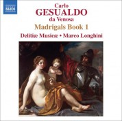 Delitiae Musicae: Gesualdo: Madrigals, Book 1 - CD