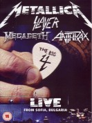Metallica, Slayer, Megadeth, Anthrax: The Big Four: Sonisphere Live From Sofia Bulgaria - DVD