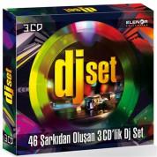 Çeşitli Sanatçılar: DJ Set - 46 Şarkıdan Oluşan 3 CD'lik DJ Club Set - CD
