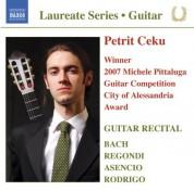 Petrit Ceku: Guitar Recital: Ceku, Petrit – Bach, J.S. / Rodrigo, J. / Asencio, V. / Regondi, G. - CD