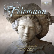 Gemma Bertagnolli, Collegium Pro Musica, Stefano Bagliano: Telemann: Cantatas and Chamber Music with Recorder - CD