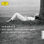 Wolfram Christ, Georg Faust, Hagen Quartett, Gerhart Hetzel, James Levine, Alois Posch: Schubert: Forellen-Quintett - CD