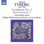 Fabio Bidini, JoAnn Falletta: Tyberg: Symphony No. 2 - Piano Sonata No. 2 - CD