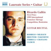 Guitar Recital: Ricardo Gallen - CD