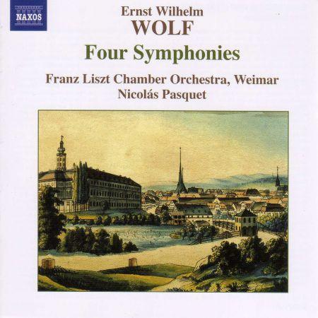 Wolf, E.W.: 4 Symphonies - CD