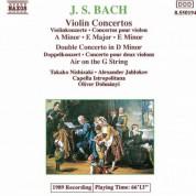 Takako Nishizaki: Bach, J.S.: Violin Concertos, Bwv 1041-1043 - CD