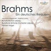 Rundfunkchor Leipzig, Rundfunk-Sinfonie-Orchester Leipzig, Herbert Kegel: Brahms: Ein Deutsches Requiem - CD