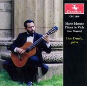 Cem Duruöz: Marin Marais: Pieces de Violes (arr.for Guitar) - CD