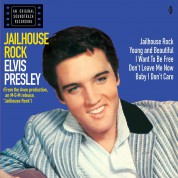 Elvis Presley: Jailhouse Rock (in Transparent Red Vinyl) + 4 Bonus Tracks! - Plak