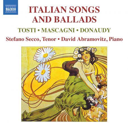 Stefano Secco: Italian Songs and Ballads - CD
