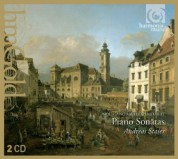 Andreas Staier: Mozart: Piano Sonatas - CD