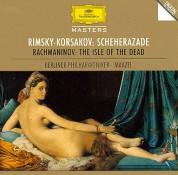 Berliner Philharmoniker, Lorin Maazel: Rimsky-Korsakov/ Rachmaninov: Scheherazade + - CD