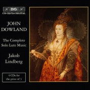 Jakob Lindberg: Dowland: The Complete Solo Lute Music - CD
