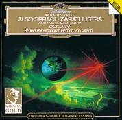 Berliner Philharmoniker, Herbert von Karajan: Strauss, R: Zarathustra, Don Juan - CD