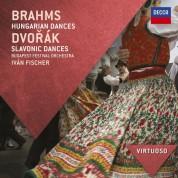 Budapest Festival Orchestra, Iván Fischer: Brahms/ Dvorak: Hungarian Dances/ Slavonic Dances - CD