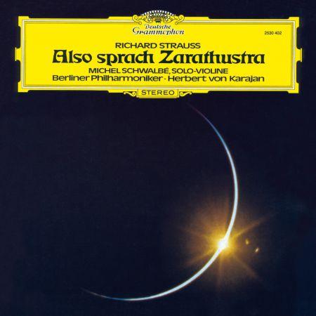 Berliner Philharmoniker, Herbert von Karajan: R. Strauss: Also Sprach Zarathustra - Plak