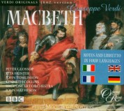 Peter Glosso, HKenneth Collins, Richard Greager, Rita Hunter, John Tomlinson, BBC Concert Orchestra, John Matheson: Verdi: Macbeth (1847 version) - CD