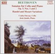 Jenö Jandó, Csabo Onczay: Beethoven: Cello Sonatas Vol.2 - CD