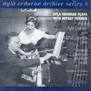 Ayla Erduran, Mithat Fenmen: Ayla Erduran Plays with Mithat Fenmen (Archive Series 4) - CD