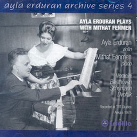Ayla Erduran, Mithat Fenmen: Ayla Erduran Plays with Mithat Fenmen (Archive Series 4) - CD