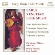 Early Venetian Lute Music - CD