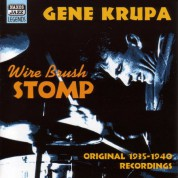 Krupa, Gene: Wire Brush Stomp (1935-1940) - CD