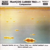 Francois Carrier Trio + 1: Compassion - CD