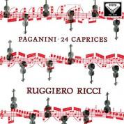 Ruggiero Ricci: Paganini:24 Caprices - Plak