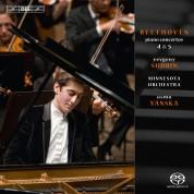Yevgeny Sudbin, Minnesota Orchestra, Osmo Vänskä: Beethoven: Piano Concertos No. 4, 5 - SACD