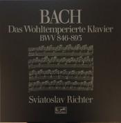 Sviatoslav Richter: Das Wohltemperierte Klavier 1 & 2 - Plak